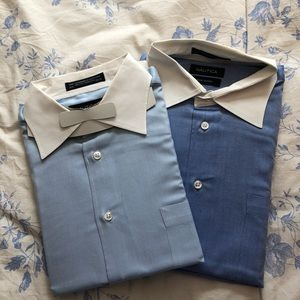 Nautica long sleeve dress shirts